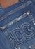 Dark blue distressed slim-leg jeans - Dolce & Gabbana