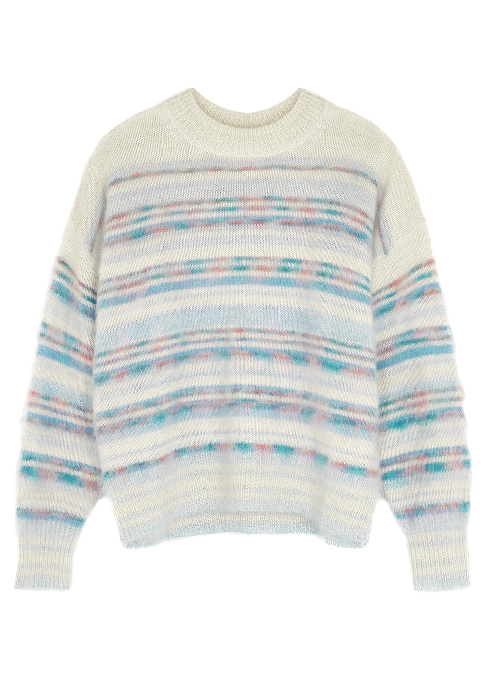 Gatliny striped alpaca-blend jumper
