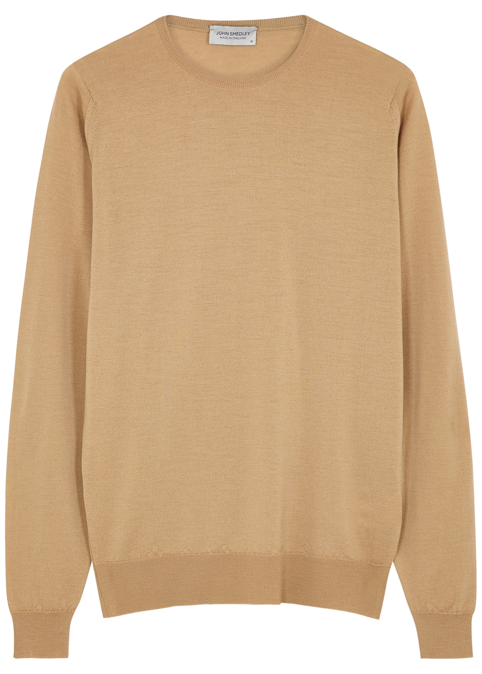 Lundy camel wool jumper