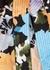 Reflection printed silk-twill wrap dress - Stine Goya