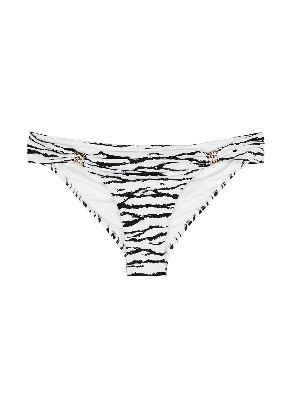 Grenada tiger-print bikini briefs