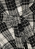 Monochrome checked wool shirt - Rosetta Getty
