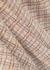 Checked stretch-knit maxi dress - Rosetta Getty
