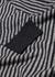 Stripe-intarsia wool jumper - Emporio Armani