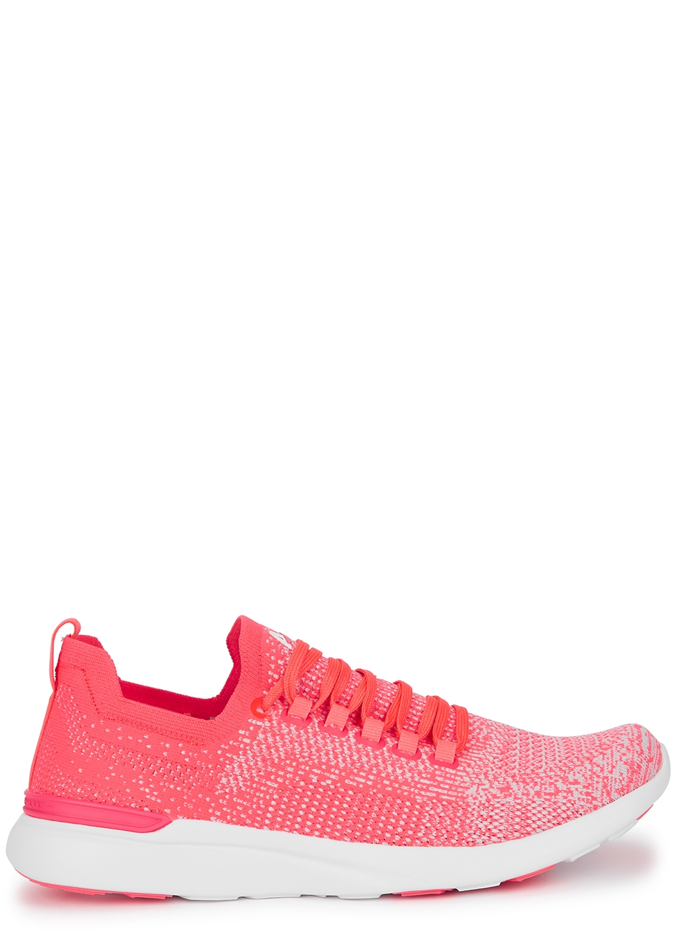 Techloom Breeze pink knitted sneakers