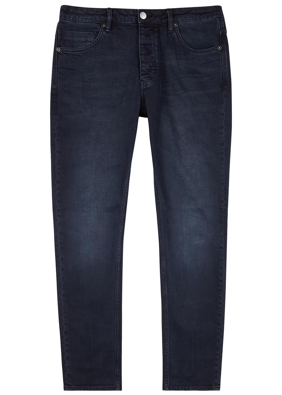 Lou dark blue slim-leg jeans