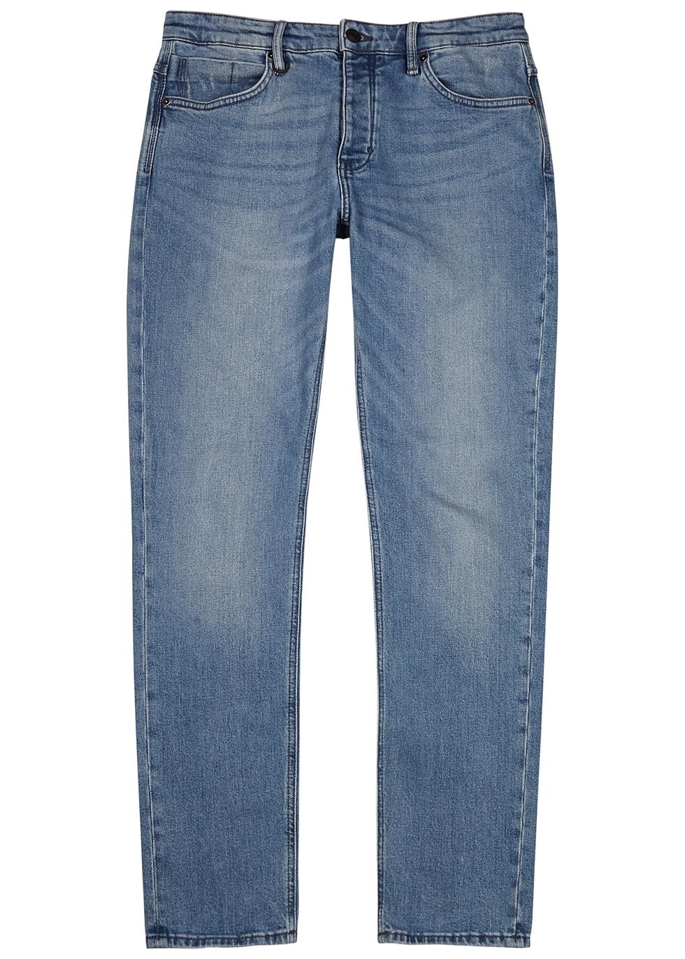 Lou blue slim-leg jeans
