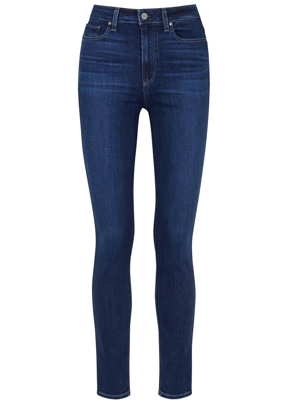 Margot Transcend blue skinny jeans