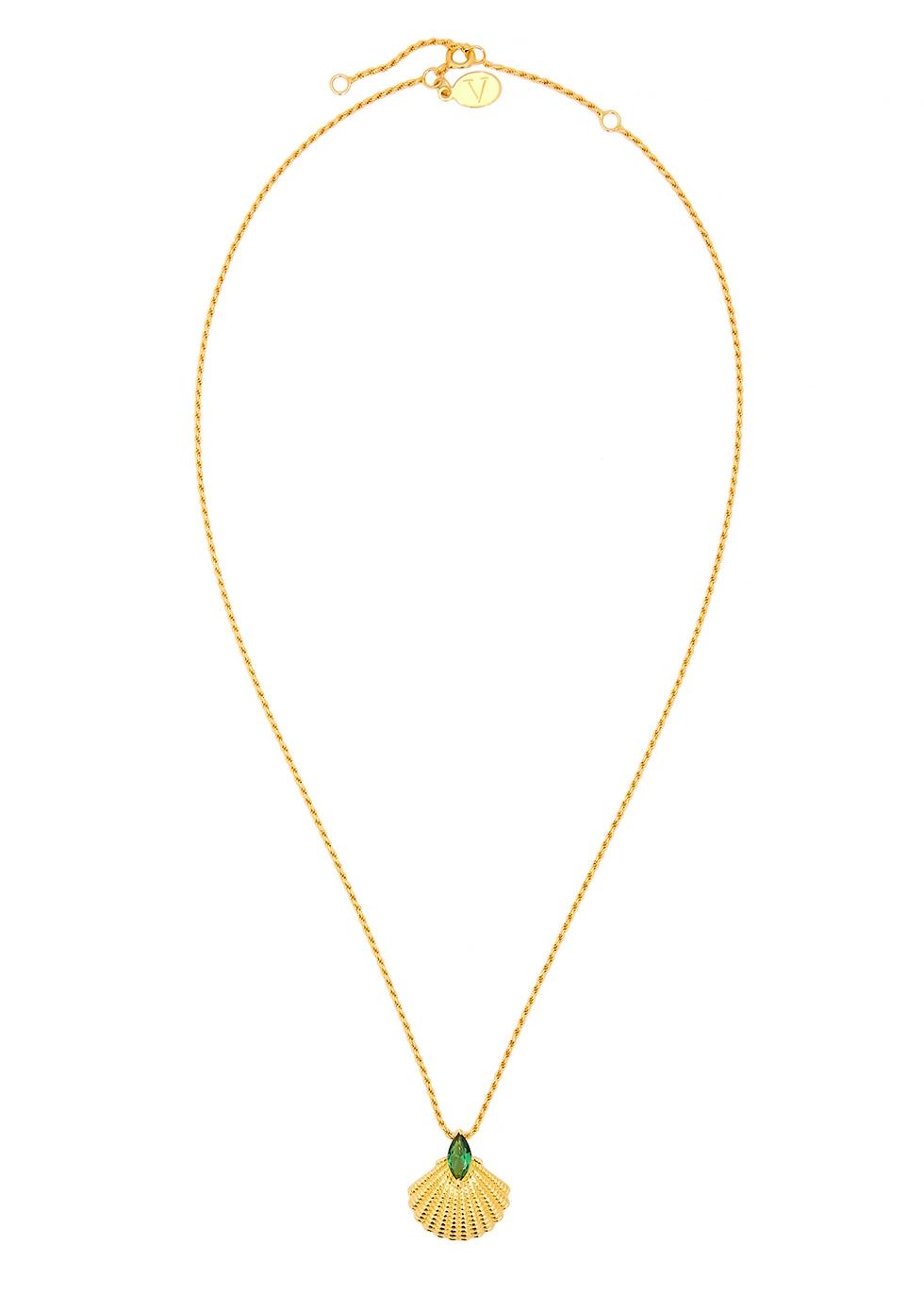 Pamela 18kt gold-plated necklace