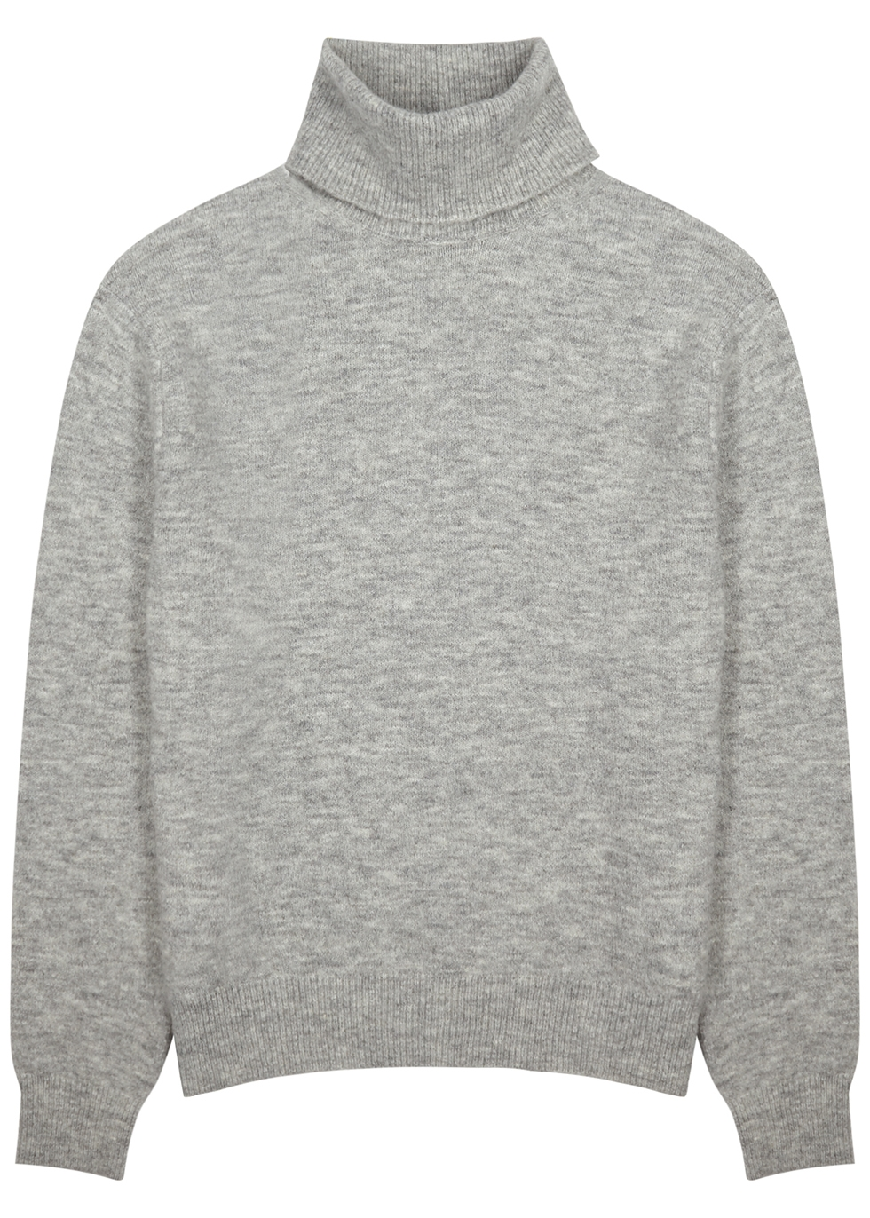 Malthe grey mélange knitted jumper