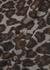 Bran leopard-print cotton shirt - Nanushka