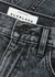 London grey straight-leg jeans - SLVRLAKE