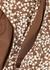 The High Waist floral-print bikini briefs - Matteau