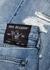 Mick light blue distressed slim-leg jeans - True Religion