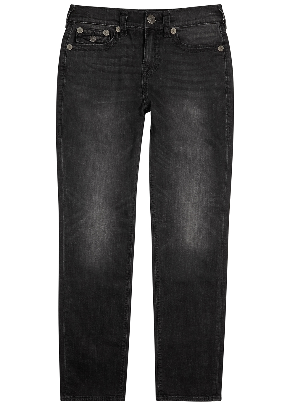 Geno dark grey slim-leg jeans