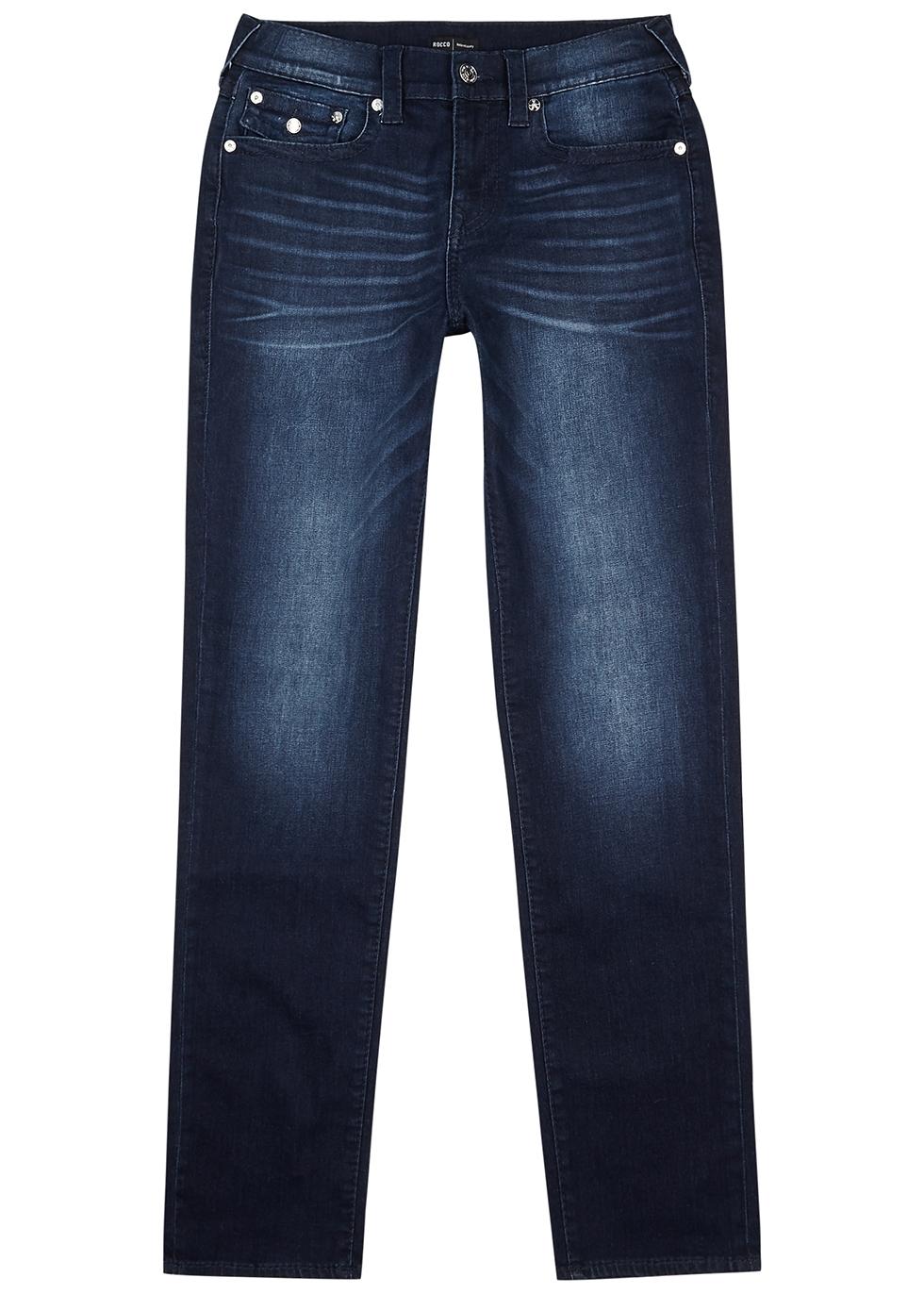Rocco dark blue slim-leg jeans
