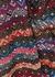 Striped flared-leg metallic-knit trousers - M Missoni