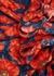 Floral-print silk mini dress - Magda Butrym