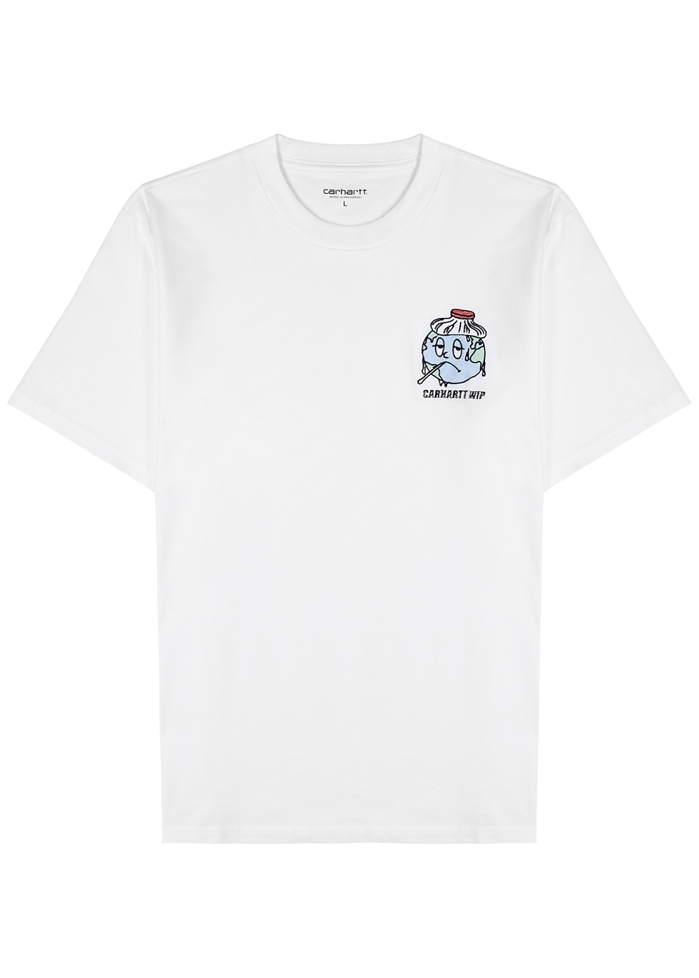 Ill World white cotton T-shirt