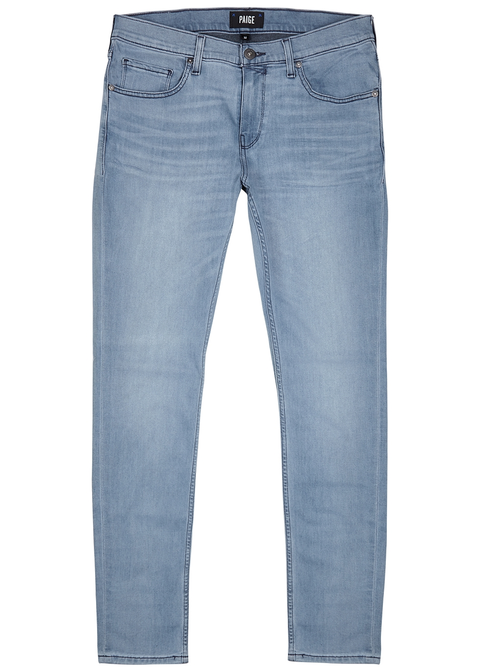 Croft Transcend light blue skinny jeans