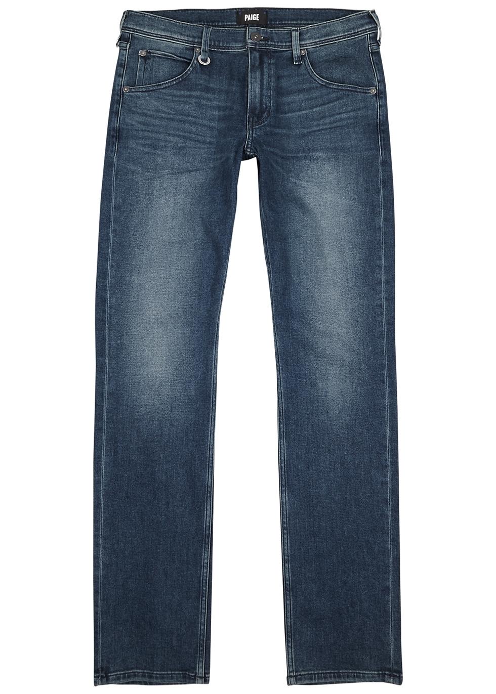 Lennox blue slim-leg jeans