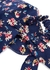 Floral-print face mask and scrunchie set - Free People