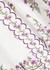 Poppy floral-embroidered linen shorts - Zimmermann