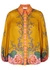 Lovestruck printed ramie shirt - Zimmermann