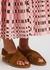 Leila brown suede sandals - Anonymous Copenhagen