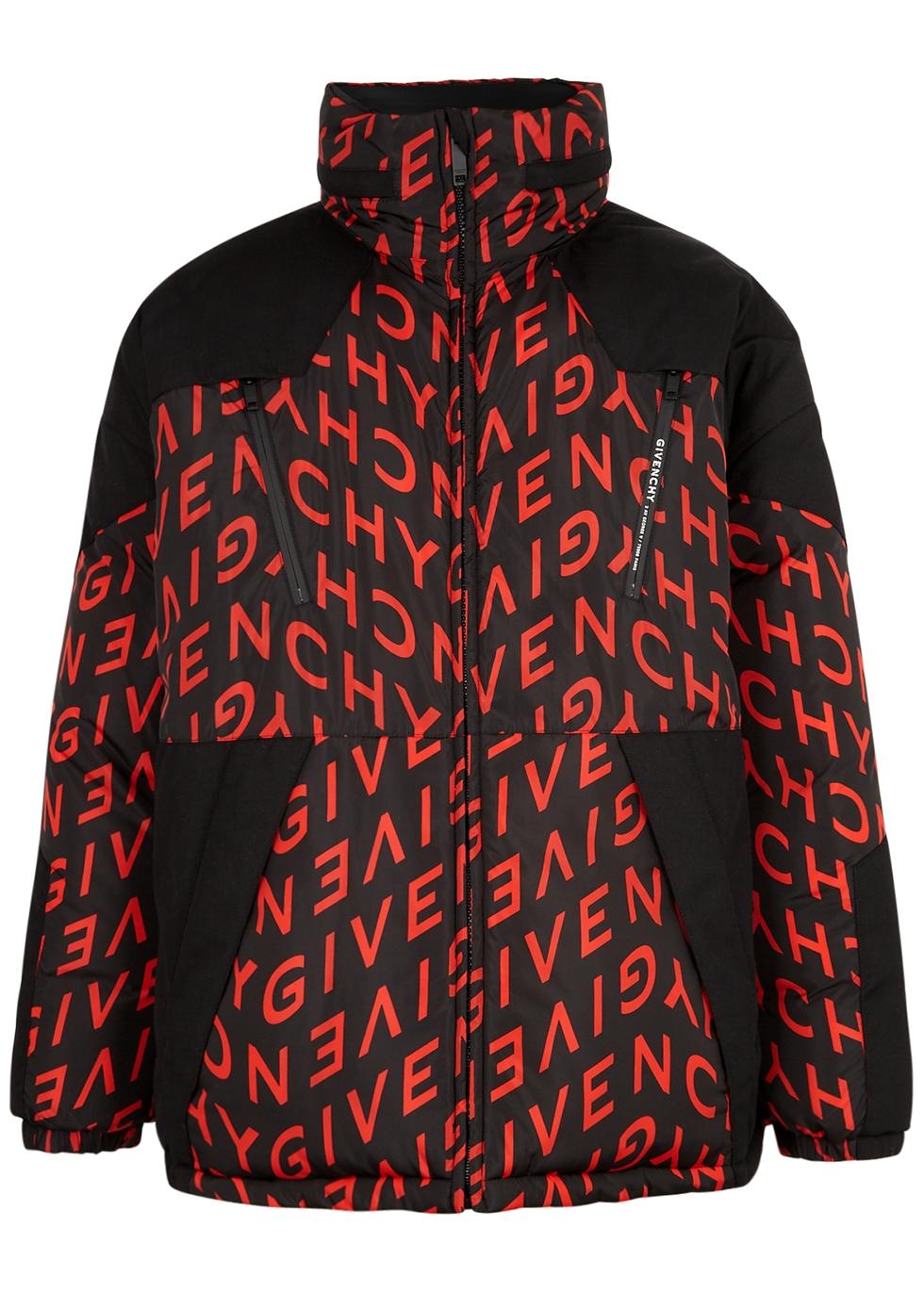 Givenchy REVERSIBLE LOGO-PRINT SHELL JACKET