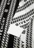 Black logo-intarsia cotton jumper - Givenchy