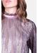 Choir ruffle long sleeve blouse in pink - Traffic People