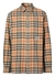 Ombre check cotton flannel oversized shirt - Burberry