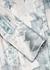 Daleyza floral-print satin shirt dress - Acne Studios