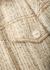 Olesta cream tweed jacket - Acne Studios