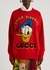 X Disney embroidered cotton sweatshirt - Gucci