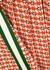 Monogrammed pleated jersey midi skirt - Gucci
