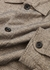 Eltham taupe brushed cotton overshirt - Oliver Spencer