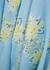Laura blue floral-print midi dress - Free People