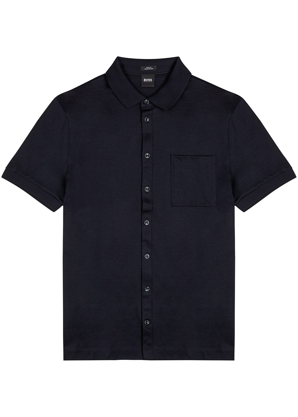 Puno navy cotton shirt
