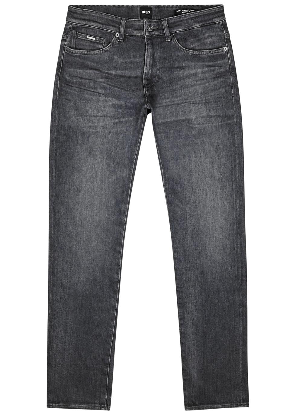 Delaware grey slim-leg jeans