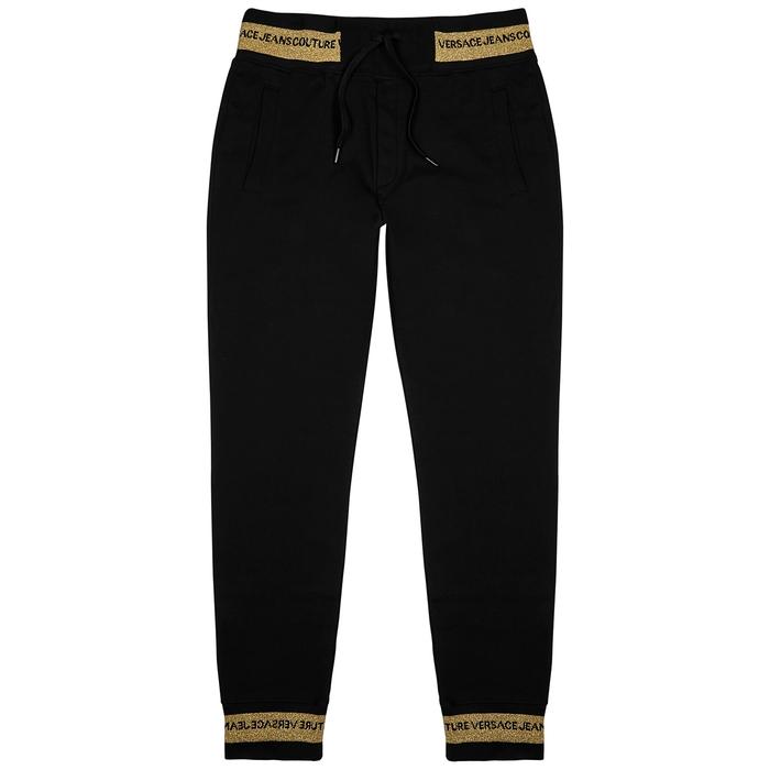 Versace Jeans Couture BLACK COTTON SWEATPANTS