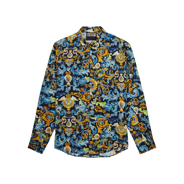 Versace Jeans Couture BAROQUE-PRINT SHIRT