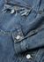 Blue distressed denim jacket - Maison Margiela