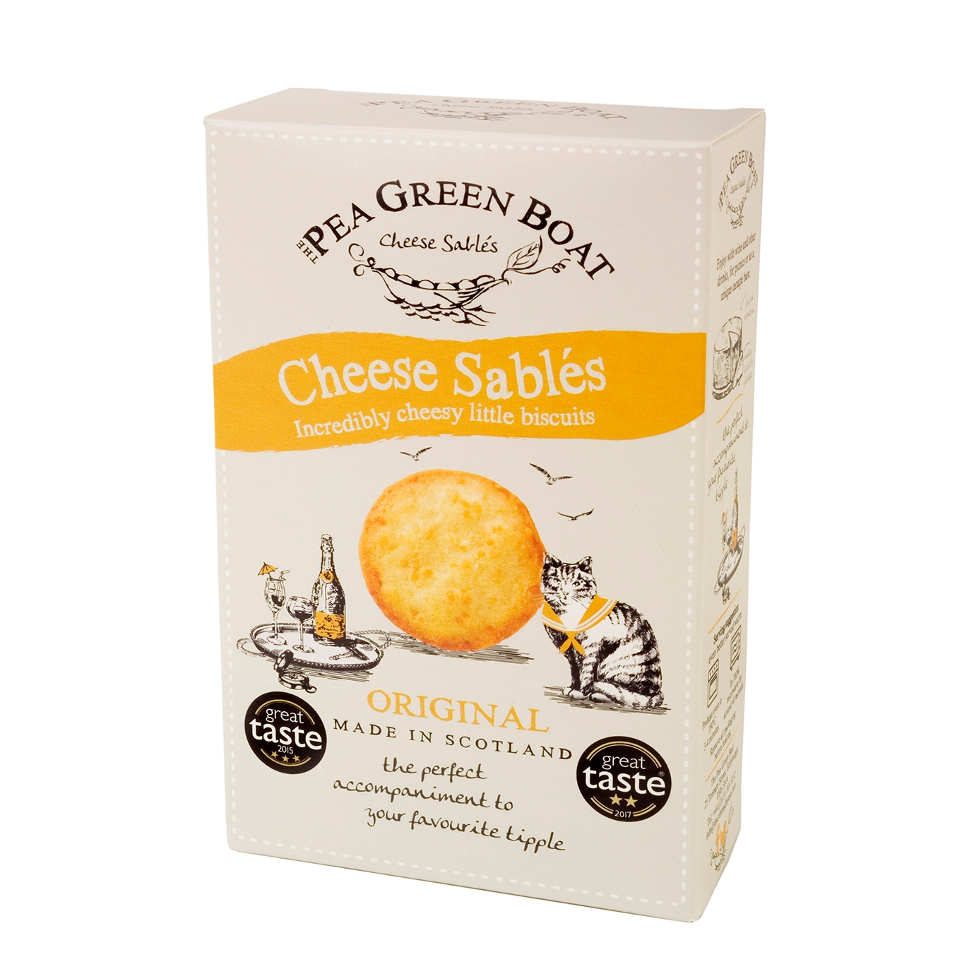 Pea Green Boat Cheese Sablés 80g Harvey Nichols