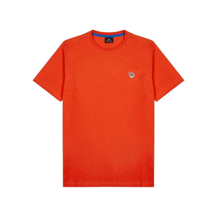 Ps By Paul Smith Ps Paul Smith Cotton T-shirt In Orange