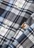 Checked slim piqué cotton Oxford shirt - Polo Ralph Lauren
