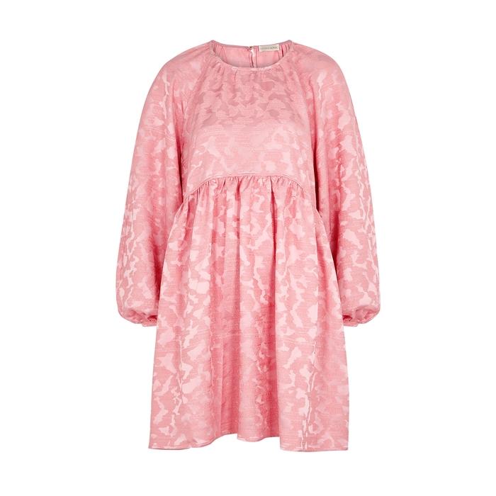 Stine Goya KELLY PINK JACQUARD DRESS