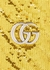 GG Marmont mini gold sequin bucket bag - Gucci