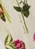 Cream floral-print blouse - Boutique Moschino